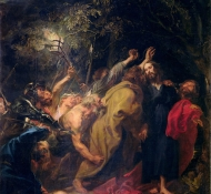 Prisão de Cristo no Jardim - Dyck