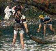 O chamado de São Pedro e Santo André - Tissot