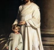 Cristo e uma criança - Bloch