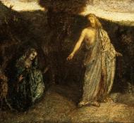 Cristo aparece a Maria