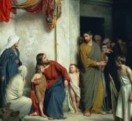 Cristo e o Menino - Bloch