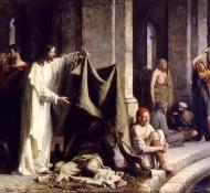 Cristo curando os doentes - Bloch