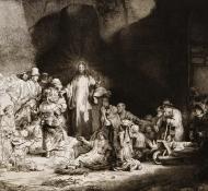 Cristo curando os doentes - Durand