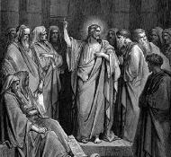 Cristo na Sinagoga - Dore