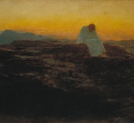 Cristo no deserto- Riviere