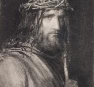 Cristo e a coroa de espinhos - Bloch 2
