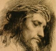 Cristo e a coroa de espinhos - Bloch