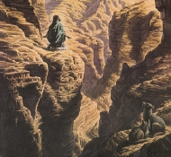 Cristo no deserto - Hayes