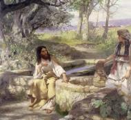 Cristo e a samaritana - Siemiradzki