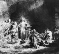 Jesus orando - Rembrandt