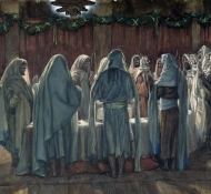 A páscoa judaica - Tissot