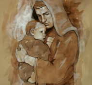 Maria e Cristo