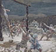 Elevação da cruz - Tissot