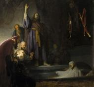 ressuscitando Lázaro - Rembrandt