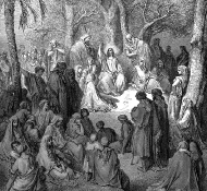 Sermão da Montanha - Dore