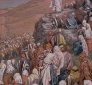 Sermão da Montanha- Tissot