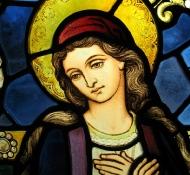 Vitral de Maria