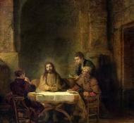 Ceia em Emaus - Rembrandt