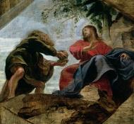 Tentação de Cristo - Rubens
