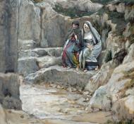 Duas Marias ao tumulo - Tissot