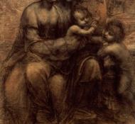 A Virgem e o Menino - Davinci